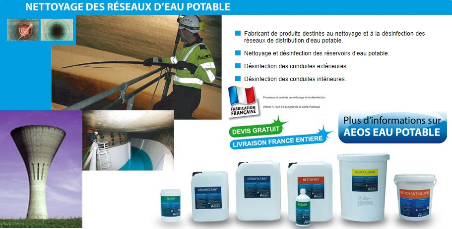 nettoyage-château-eau-réservoir-canalisation-eau potable-france
